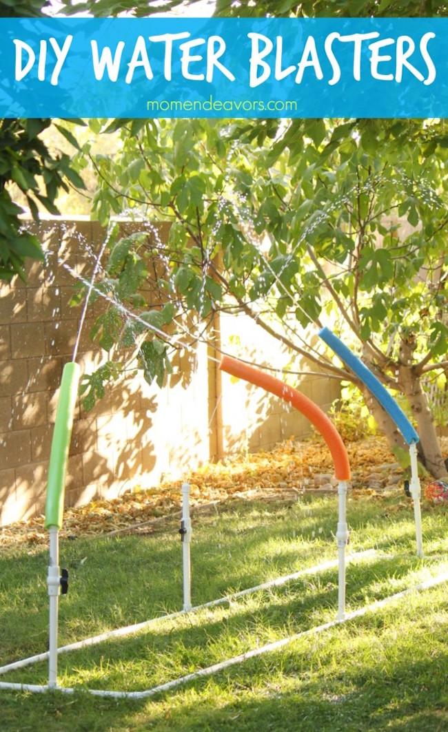 No Solo DIY: 15 Juegos con agua para este verano