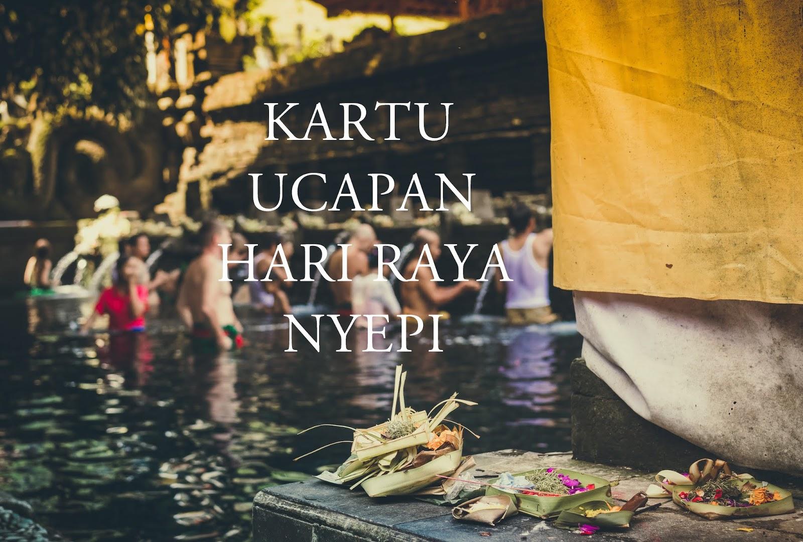 Kartu Kata-kata Selamat Hari Raya Nyepi Terbaru Tahun Ini