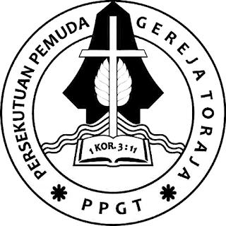Logo PPGT Hitam Putih