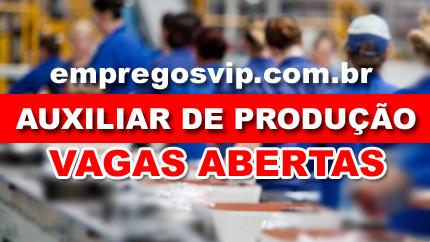 Vagas de emprego Auxiliar de Produção Manaus,Trabalhe