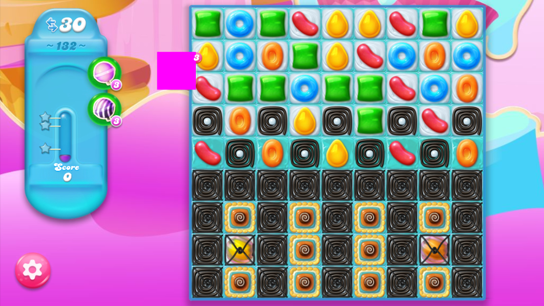 Candy Crush Jelly Saga 132