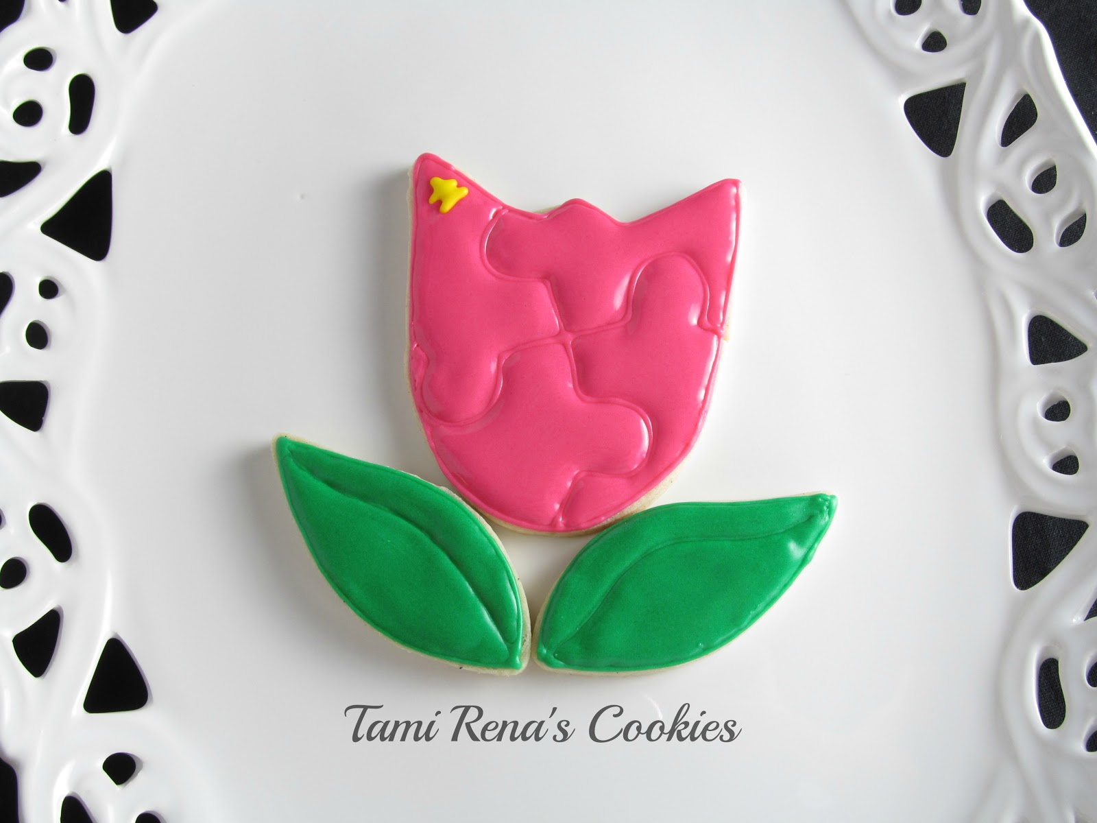 Tami Renā's Cookies: Flower Puzzle tutorial for Autism ...