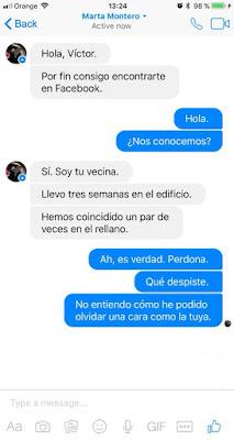 Capturas de Pantalla del chat de humor : Conversación viral entre vecinos