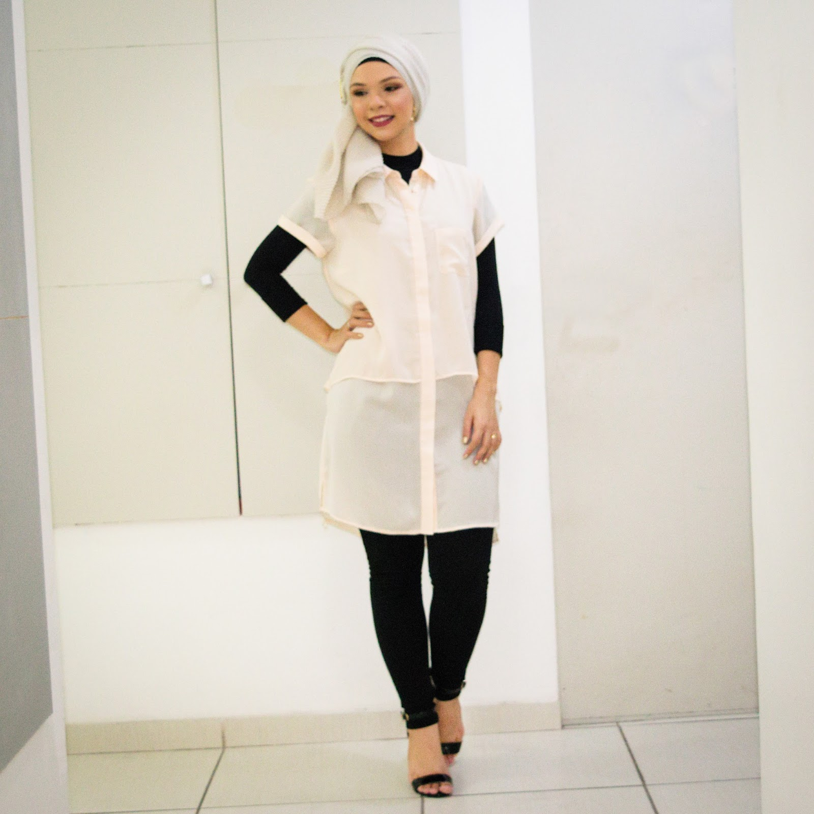 OOTD // Resolutions, freebies and New Year Eve outfit - Simplicity in vogue / @ByAndreaB - new year's resolutions, freebie, desktop wallpaper, screensaver, free, modesty, modest style, modest fashion, modest fashion blogger, muslimah, brazilian muslimah, hijab, hijab style, how to wear, how to style, white dress, turban, turban style, believe in yourself, creative, design