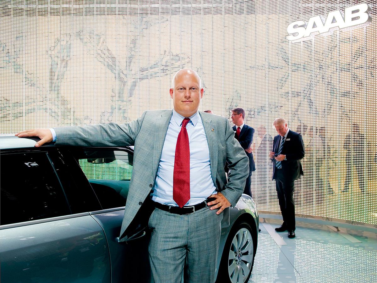 TOP 8 -Christian Von Koenigsegg, 43 tuổi, Giám đốc điều hành và sáng lập, Koenigsegg Automotive AB