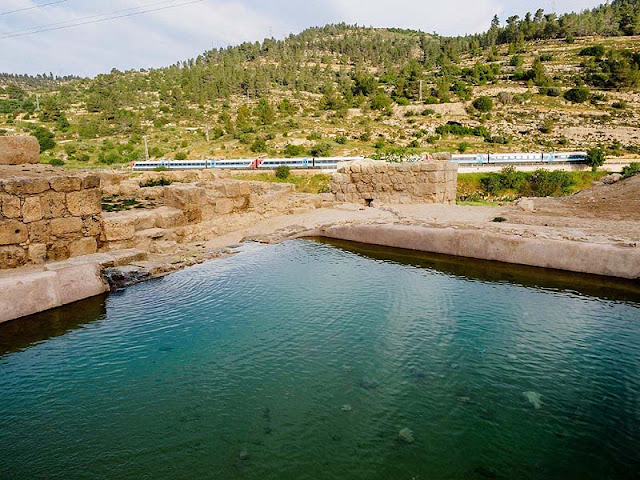 Byzantine-era pools, fountain found near ancient Jerusalem church
