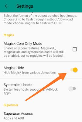 Cara Menyembunyikan Status Root Dengan Magisk
