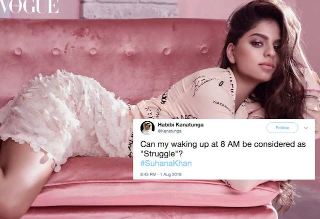Suhana Khan Vogue Trolled