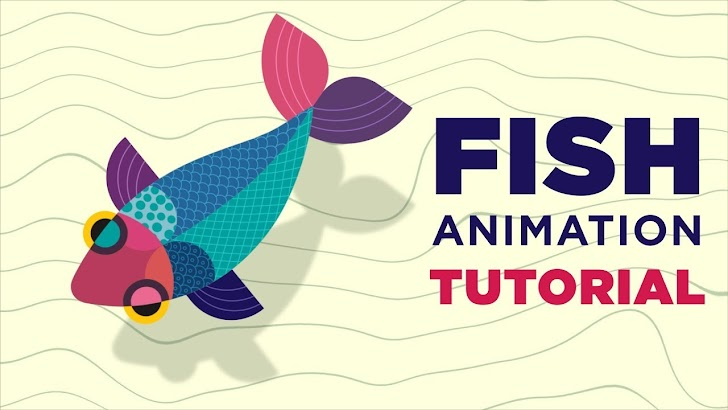 Tutorial AE: Cara Membuat Animasi Seekor Ikan di After Effects dengan Puppet Pins