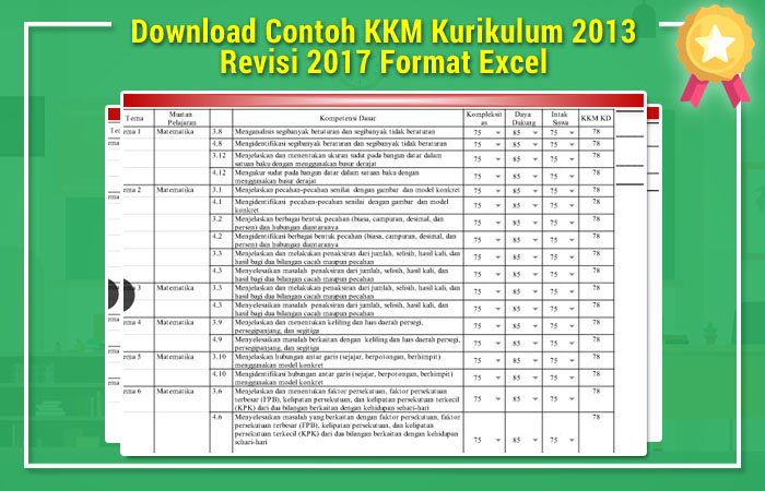 KKM Kurikulum 2013
