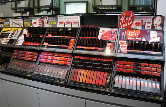 a photo of Club Clio visit at Trinoma. Goodal, peripera and CLIO top picks