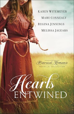 Heidi Reads... Hearts Entwined: A Historical Romance Novella Collection by Karen Witemeyer, Mary Connealy, Regina Jennings, Melissa Jagears