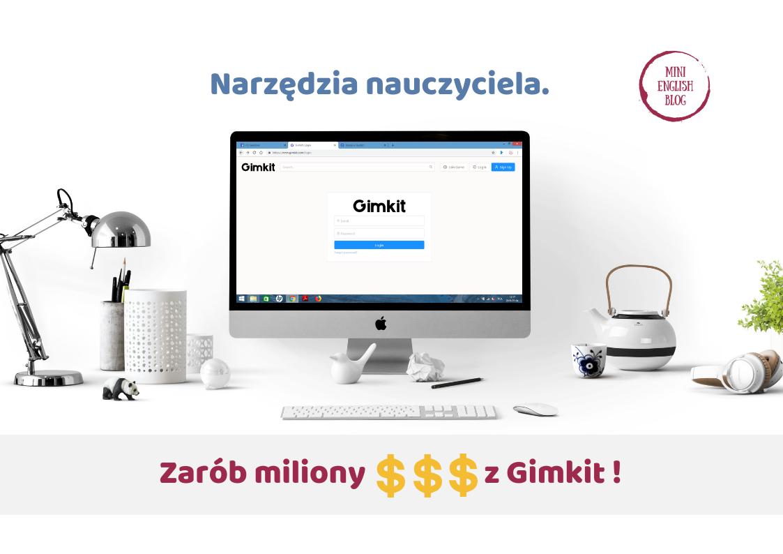 Narzędzia nauczyciela. Gimkit, czyli zdobądź miliony cz.1