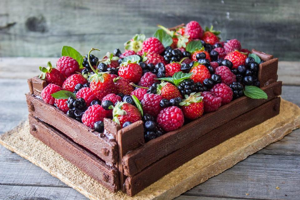 Cheesecake Cassetta Di Frutti Di Bosco Lyuba Radeva