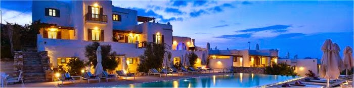 Hotel romantici Paros Grecia