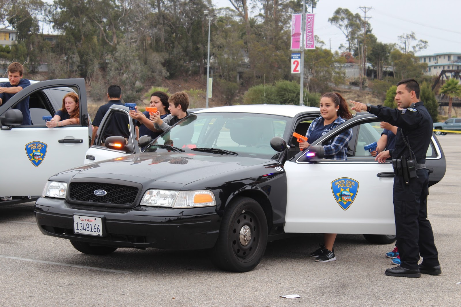 Santa Cruz Police Sign Up Now For Teen Public Safety Academy