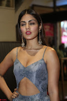 Rhea Chakraborty in a Sleeveless Deep neck Choli Dress Stunning Beauty at 64th Jio Filmfare Awards South ~  Exclusive 133.JPG