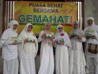 Cek Kesehatan Gratis Warga Kelurahan Kreo Selatan Bersama GEMAHATI dan SUSU HAJI SEHAT, 21 Mei 2017 Kota Tangerang