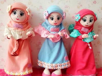 Produsen Boneka Muslimah