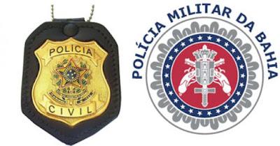 Três homens morreram e dois foram presos em uma operação conjunta entre PM/PC no Alto Santo Antônio