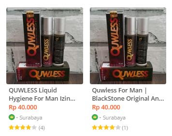 Testimoni Quwless Liquid Hygiene For Man