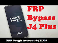 FRP Bypass Samsung J4+ PLUS Without PC 1000% OK