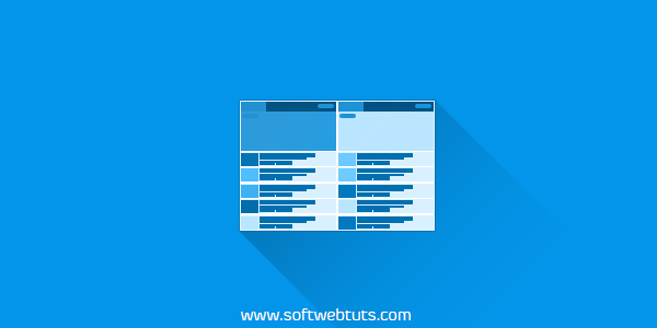 Column Style Specific Label Posts Blogger Widget