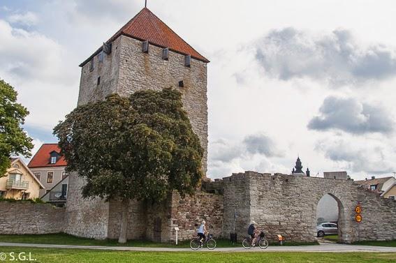 Muralla de Visby en Gotland