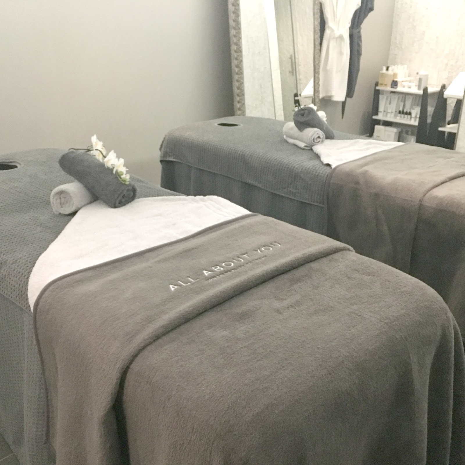 City Centre Spa in Newcastle - All About You, Grey Street Hotel - Treatment Room