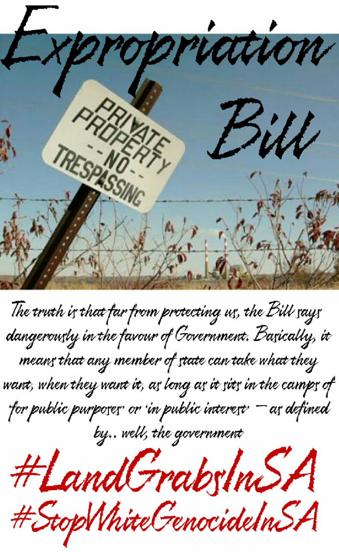 "#LandGrabsInSA: Watch ""Expropriation Bill: When will it be passed?"""