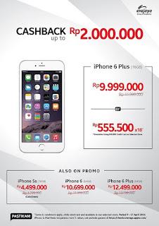 Promo iPhone di Erafone Cashback hingga Rp 2 Juta