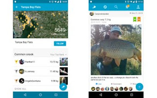 1. Fishbrain (Android, iOS: Gratis)