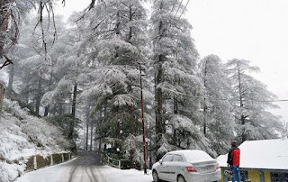 White Christmas Shimla