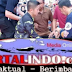 Saat Gelar Acara Jalan Sehat Dikota Kendari,Tangan Jokowi Terluka