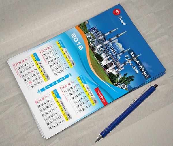 Font Untuk Kalender