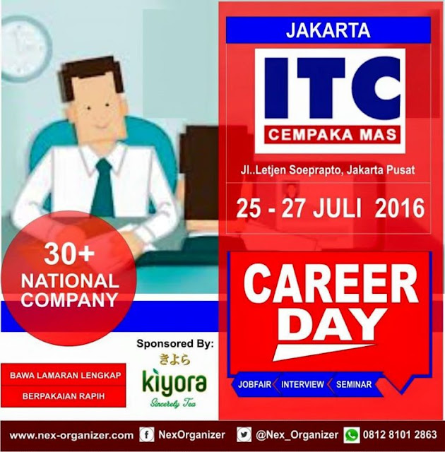 Jobfair Jakarta Career Day ITC Cempaka 2016