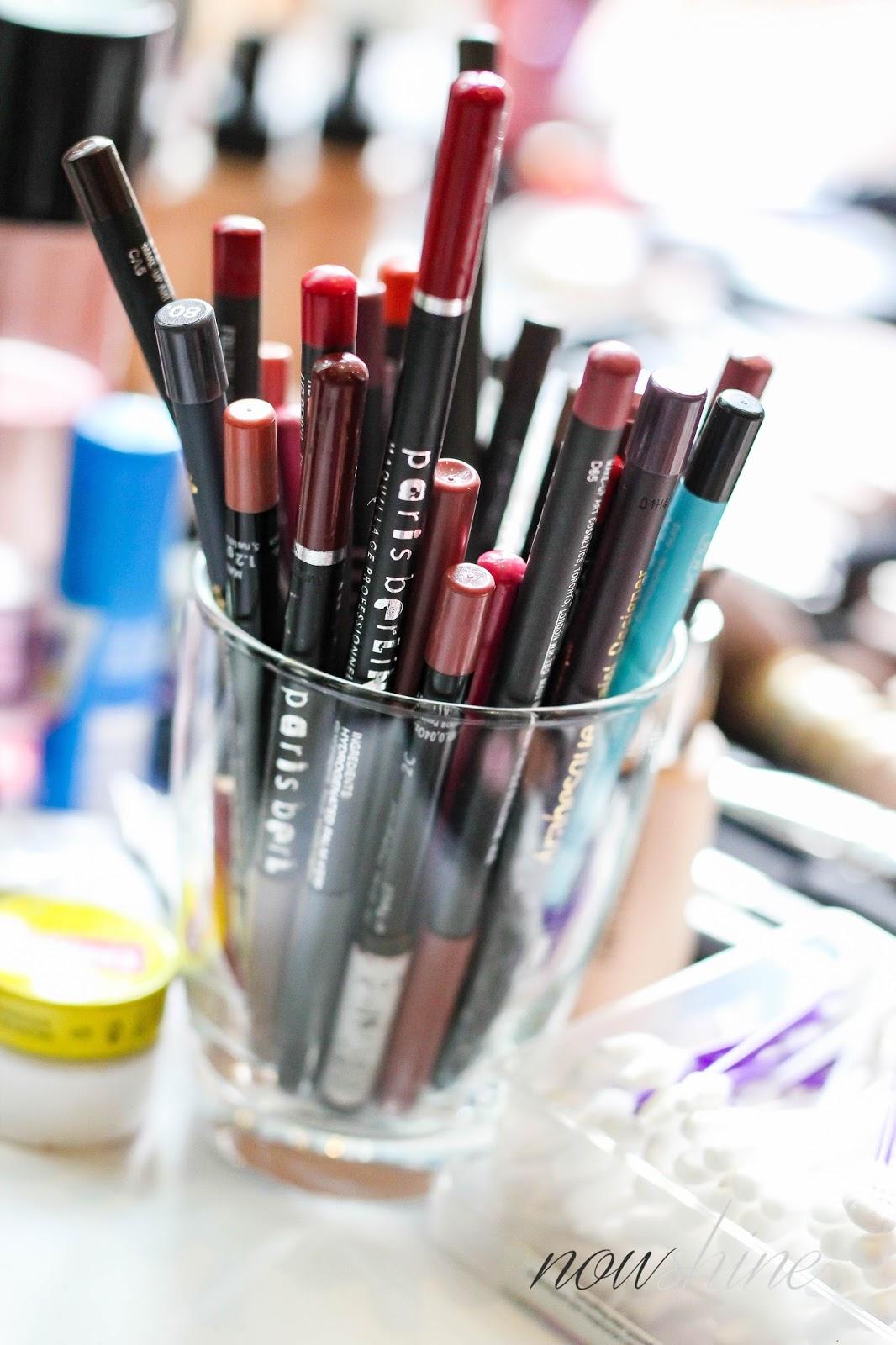 Hair and Make Up, Kajal und Lippenumrandungsstifte