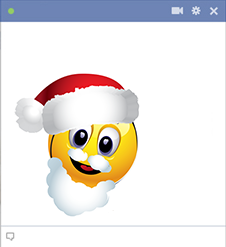 Facebook Santa Emoticon