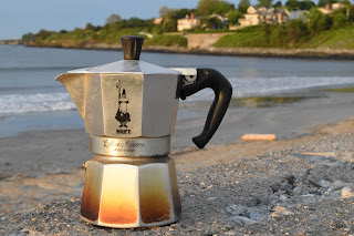 Italian Bialetti Moka Stove-Top Coffee Maker At Newport Rhode Island