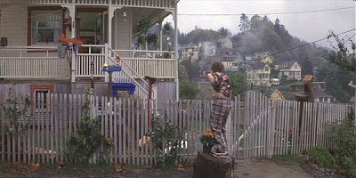 inspiration from the Walsh's front porch in The Goonies