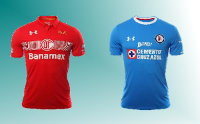 Previa Toluca vs Cruz Azul jornada 10 del futbol mexicano