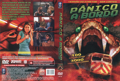Filme Pânico a Bordo (Snakes on a Train) DVD Capa