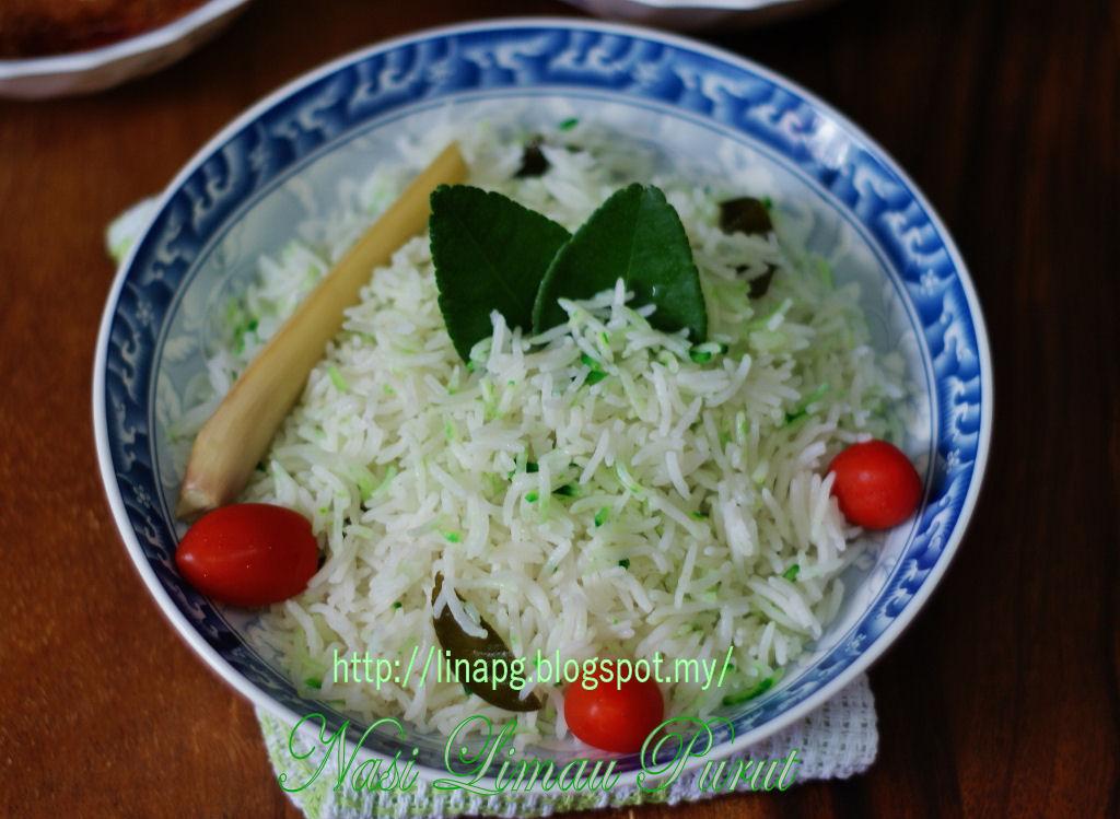 nasi limau purut mudah  enak beraroma teratak mutiara kasih Resepi Beras Rendang Enak dan Mudah