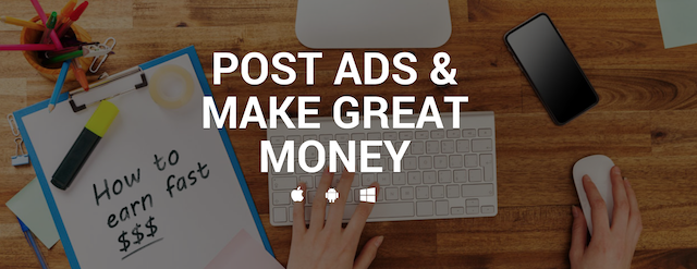 Let's Start POSTING ADS & Make Money!