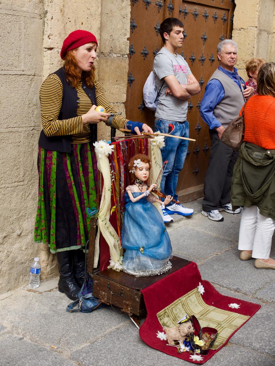 Marioneta en Segovia 2015