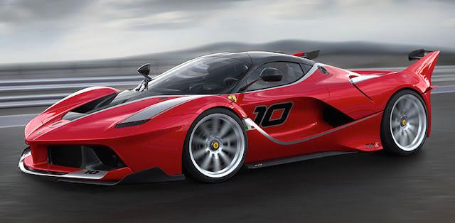 フェラーリFXX Kをさらに高性能にした究極の「エヴォルツィオーネ」を設定か?
