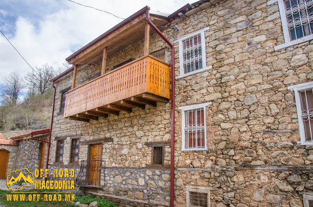 Ljubojno village - Prespa Region - Traditional architecture