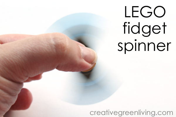 How to make a DIY Fidget Spinner with lego