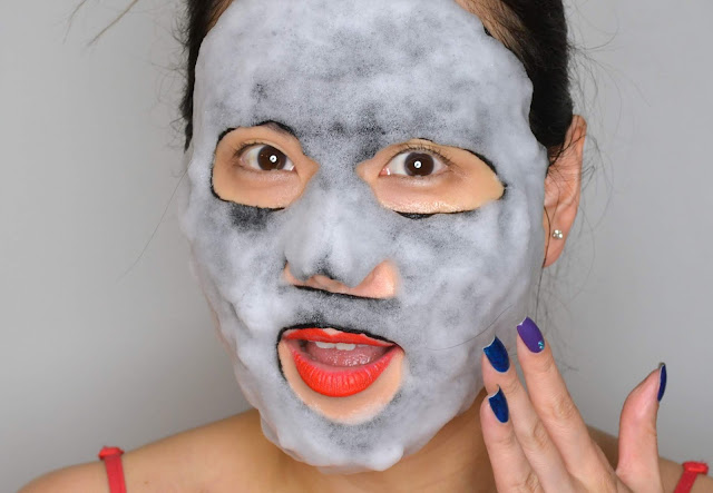 SKINCARE | MaskerAide Bubble Bubble Pop Charcoal Bubble Sheet Mask #31DaysofSheetMasks