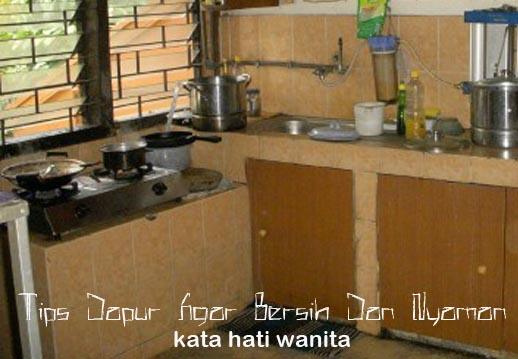 Uraian Diatas Merupakan Salah Satu Contoh Agar Dapur Terlihat Bersih Dan Nyaman Yang Akan Membuat Terbebas Dari Bakteri Menimbulkan